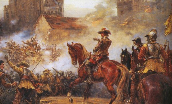 civil wars from 1642 to 1651