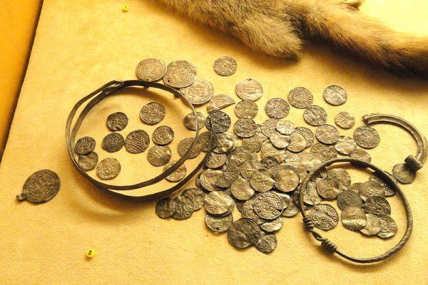 Islamic, English, and German coins