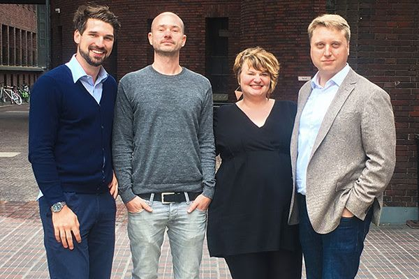 Hannes Klöpper, Gordon Friebe, Christina Pautsch, Dr. Florian Nickels-Teske
