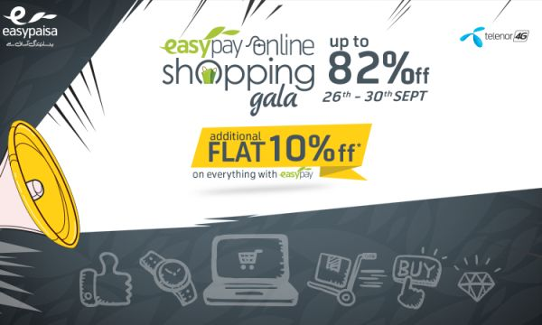Daraz and Easypay offering up to 82% off on all products