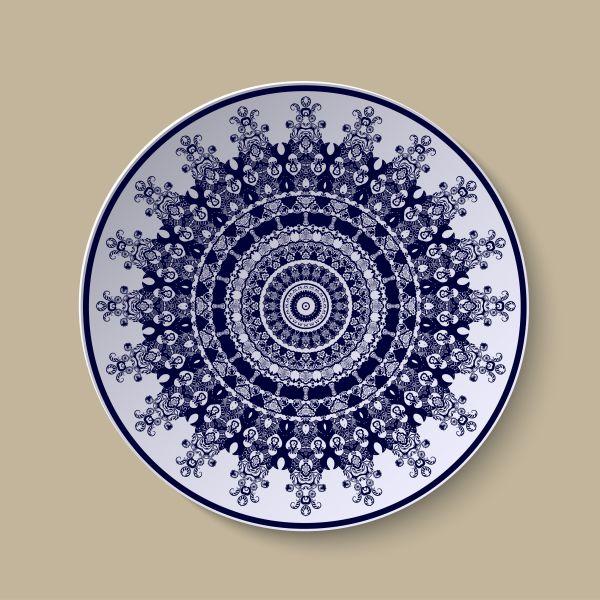 Festive Plates