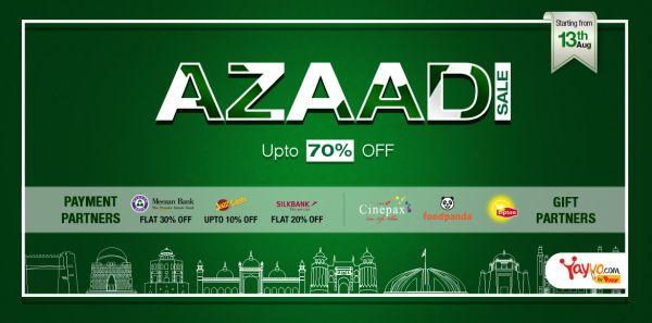 Azaadi Sale by Yayvo.com