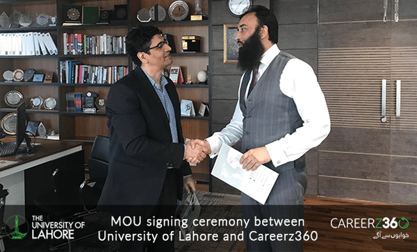 MoU Signed Between Careez360 and UOL to Assist Human Resource Development