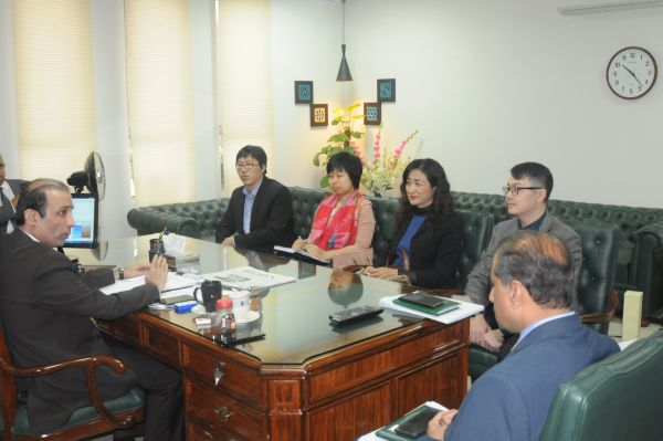 Chinese Luban Workshop to start classes from April 2018: Chairman TEVTA Irfan Qaiser Sheikh