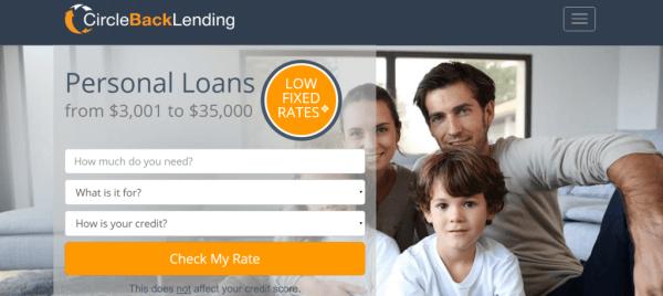 Circle Back Personal Loan