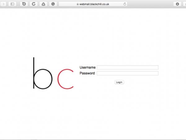 BC WebMail login