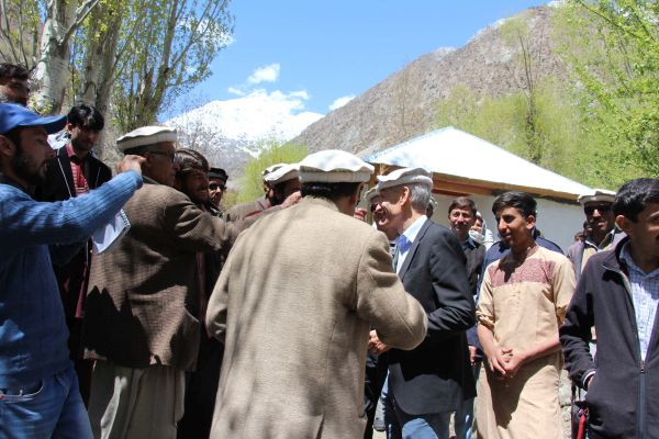 Swiss Ambassador inaugurated 800 KV hydro power house