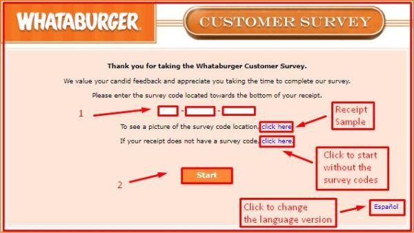 WHATA BURGER Survey