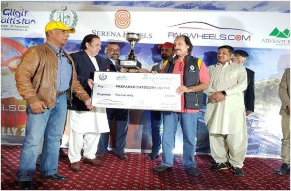 Nadir Magsi wins third PakWheels Sarfaranga Rally 2019