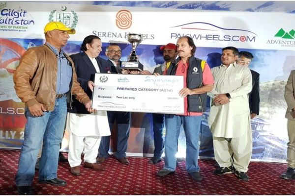 Nadir Magsi wins third PakWheels Sarfaranga Rally 2019