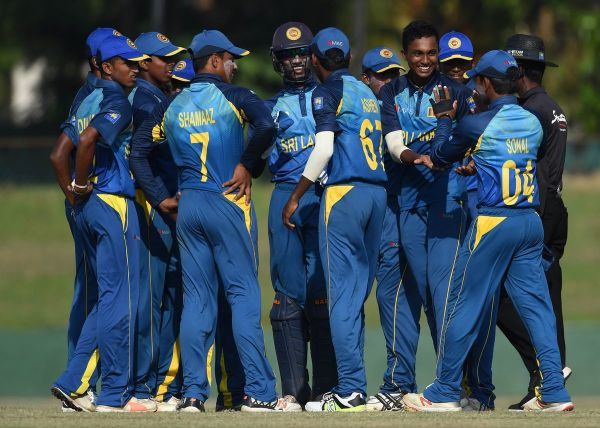 Sri Lanka's U-19 team