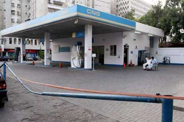 CNG station in Lahore