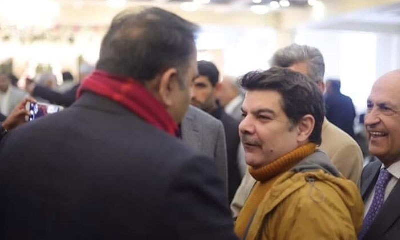 Fawad Chaudhry and Mubashir Luqman