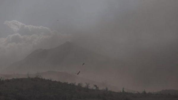 Volcano eruption in the Philippines