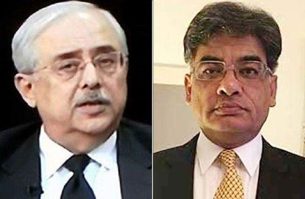 Anwar Mansoor Khan and Khalid Jawed Khan