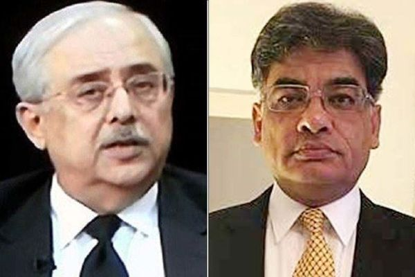 Anwar Mansoor Khan and Khalid Jawed Khan