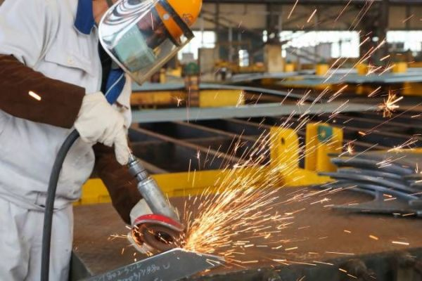 China stutters back to work