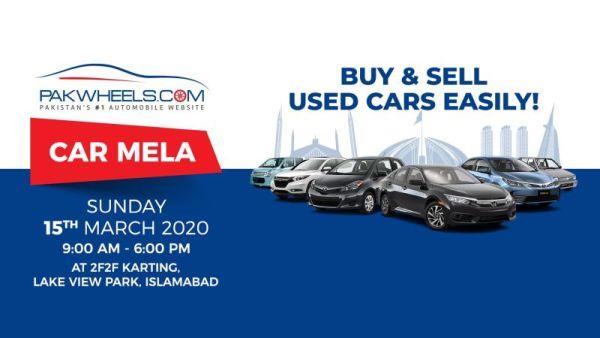 PakWheels To Organize Car Mela In Islamabad