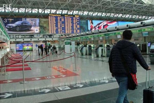 Pakistanis offloaded from flight in Italy