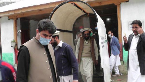 Chitral smart sanitizer walk through