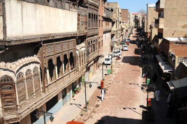Peshawar market