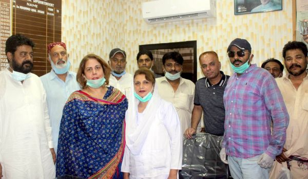 MS Shah Bhitai Hospital praises performance of medical staff