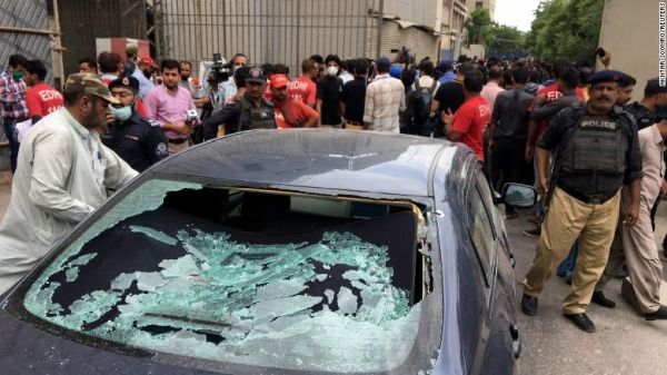 Pakistan Stock Exchange terrorist attack