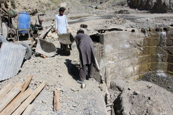 Chitral roads repair and maintenance