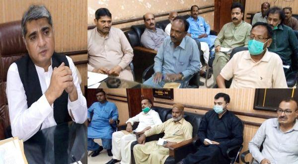 HMC Administrator expresses dissatisfaction on sanitary condition