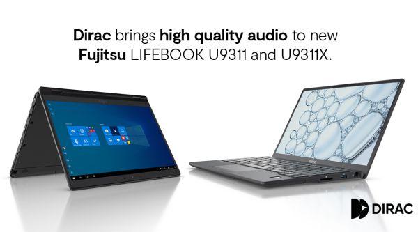 Dirac-enabled FUJITSU Notebook LIFEBOOK