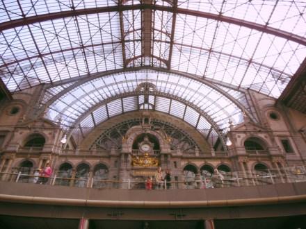 Antwerp Railway Station, Antwerp, Belgium