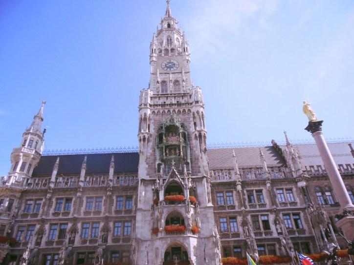 Rathaus-Glockenspiel of München, Marienplatz, Munich, Germany