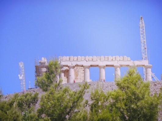 The Acropolis of Athína, Athens, Greece
