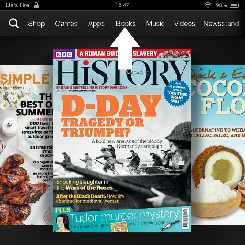 How to borrow ebooks from Kindle Owners' Lending Library on your Kindle Fire - Books
