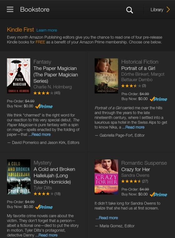 How to download the Kindle First books on your Kindle Fire - choose preferred ebooks