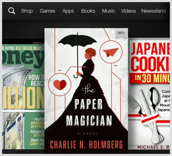 How to download the Kindle First books on your Kindle Fire