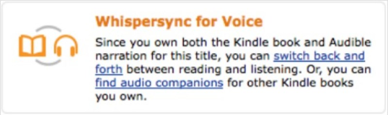 How to download a FREE Whispersync for Voice each month with Amazon Prime - Switch back and forth between reading and listening