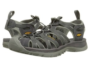 KEEN Women's Whisper Sandal - Magnet/Neutral Gray