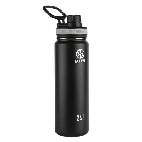 Takeya Originals Vacuum-Insulated Stainless-Steel Water Bottle, 24oz