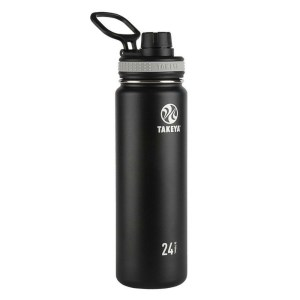 Takeya Originals Vacuum-Insulated Stainless-Steel Water Bottle, 24oz