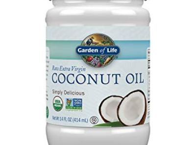Garden of Life Organic Extra Virgin Coconut Oil - 14 oz