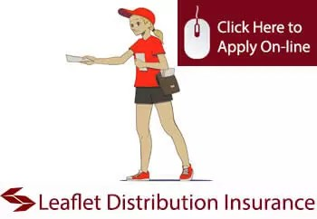 leaflet distributors public liability insurance