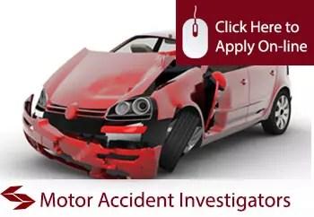 motor accident investigators public liability insurance