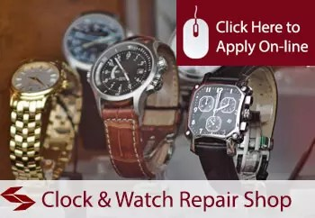 clock and watch repair shop insurance in Ireland