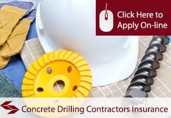 concrete drilling contractors public liability insurance