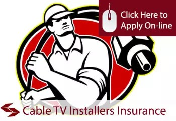 cable TV fitters public liability insurance