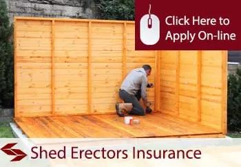 shed erectors public liability insurance