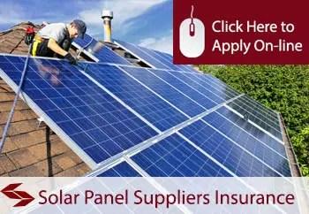 solar panel suppliers public liability insurance
