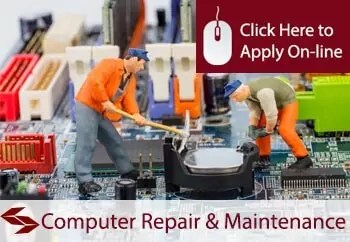 computer repair service and maintenance engineers public liability insurance