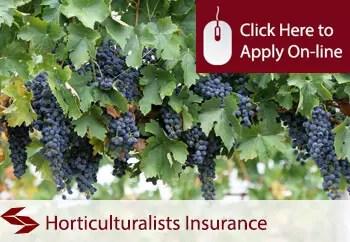 horticulturalists public liability insurance